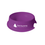 Small Pet Bowl in purple with 1 colour print logo