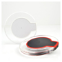 round charging pads in a range of colours