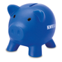 softco piggy bank in royal blue