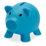 softco piggy bank in light blule