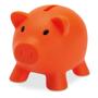softco piggy bank in orange