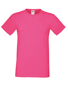 Softspun T in pink with crew neck