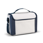 Blue and white cooler bag