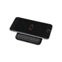 Square wireless charging pad with fabric top