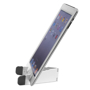 Standol Phone Holder in white and grey with tablet resting in it