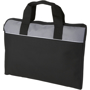 Tampa Conference Bag in black and grey with white stripe