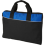 Tampa Conference Bag in black and blue with white stripe