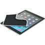 Tech Screen Cleaning Cloth in black on iPad