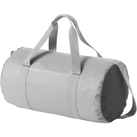 Tennessee Duffel in greu with black side panels