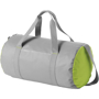 Tennessee Duffel in grey with green side panels