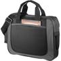 Black and grey shoulder business bag