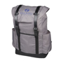 """Thomas 16"""" Laptop Backpack in grey with black details and 1 colour logo"""