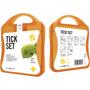 orange tick first aid kit