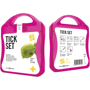 pink tick first aid kit