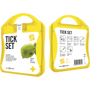 yellow tick first aid kit