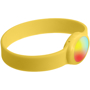 Tico LED Bracelet in yellow with light