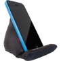 Toddy Gear The Wedge Mobile Stand in black with phone resting on it