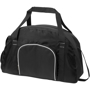 Track Sport Duffel in black with white detail