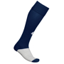 Training Socks in navy and grey with 1 colour print logo