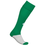 Training Socks in green and grey with 1 colour print logo