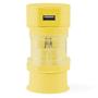 Tribox Travel Adaptor Yellow