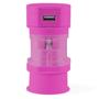 Tribox Travel Adaptor Pink