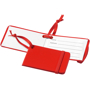 red tripz luggage tag