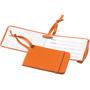 orange tripz luggage tag