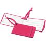 pink tripz luggage tag