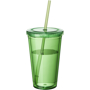 Tumbler with Straw in green