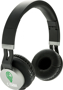 Twist Wireless Headphones in black and silver with 2 colour print