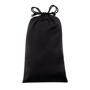 USB Port Travel Plug pouch in black
