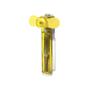 Water pocket fan in yellow