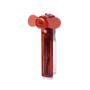 Water pocket fan in red