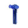 Water pocket fan in blue