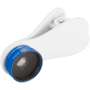Wide Angle and Macro Lens with Clip in white and blue