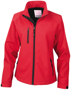 Women's Baselayer Softshell Jacket in red