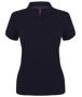 Women's Micro-fine Pique Polo Shirt in navy