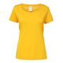 Women's Performance Core T-shirt in yellow