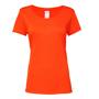 Women's Performance Core T-shirt in orange