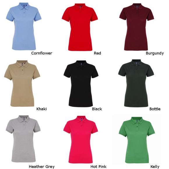 Women's Poly/Cotton Blend Polo