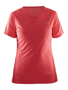 Women's Prime Tee in red