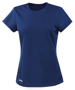 Women's Quick Dry Short Sleeved in navy