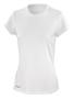 Women's Quick Dry Short Sleeved in white