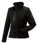 Women's Sports Softshell Jacket in black