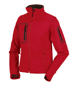 Women's Sports Softshell Jacket in red