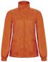 Women's Windbreaker Jacket in orange