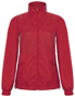 Women's Windbreaker Jacket in red