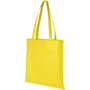 Reusable shopping bag in yellow