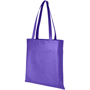 Promotional shopper bag in purple